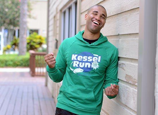 Kessel Run on Hoodie