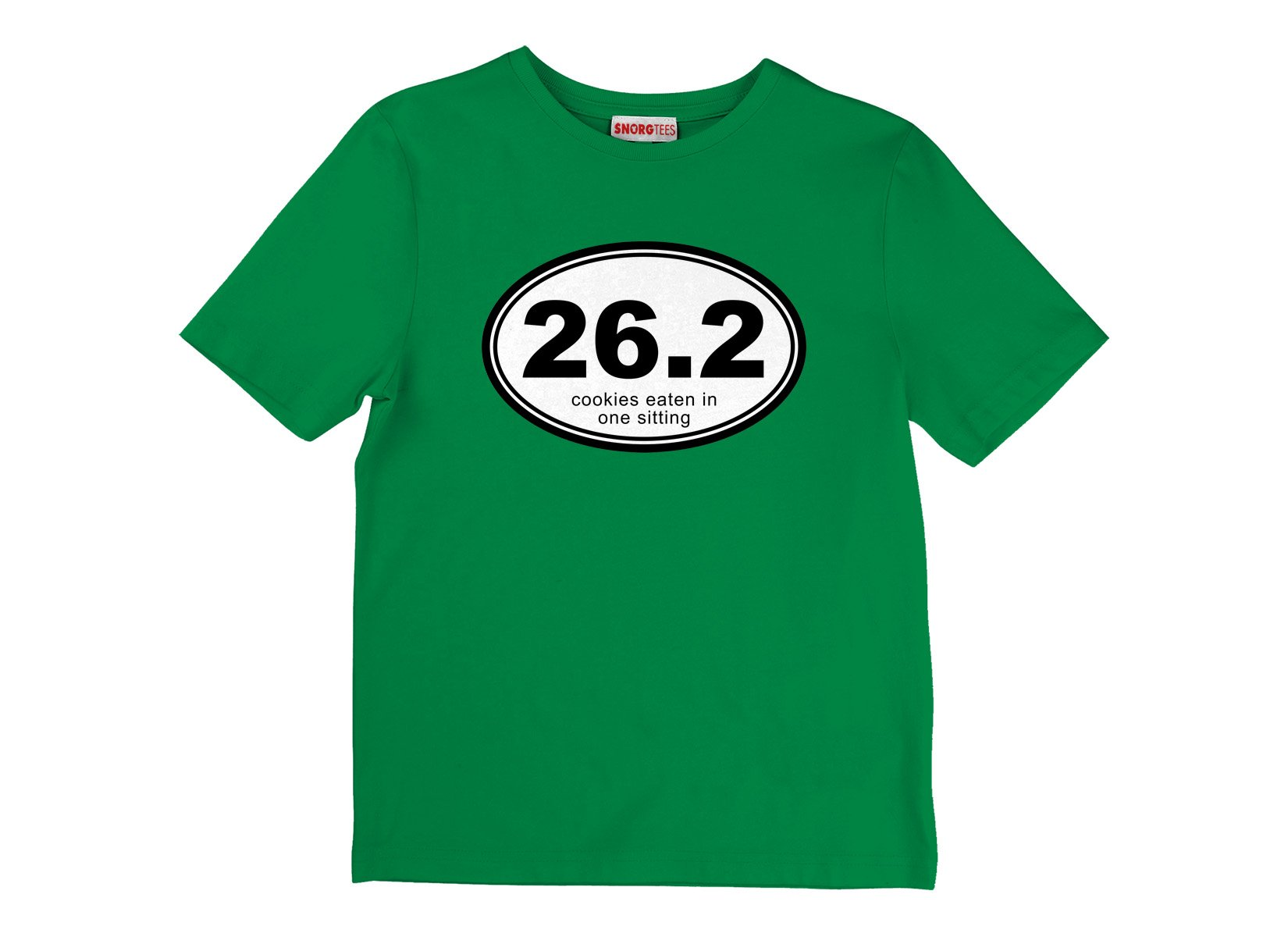 26.2 Cookies Eaten In One Sitting on Kids T-Shirt