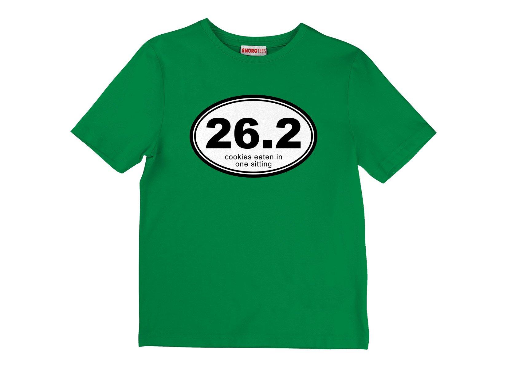 26.2 Cookies Eaten In One Sitting on Kids T-Shirt