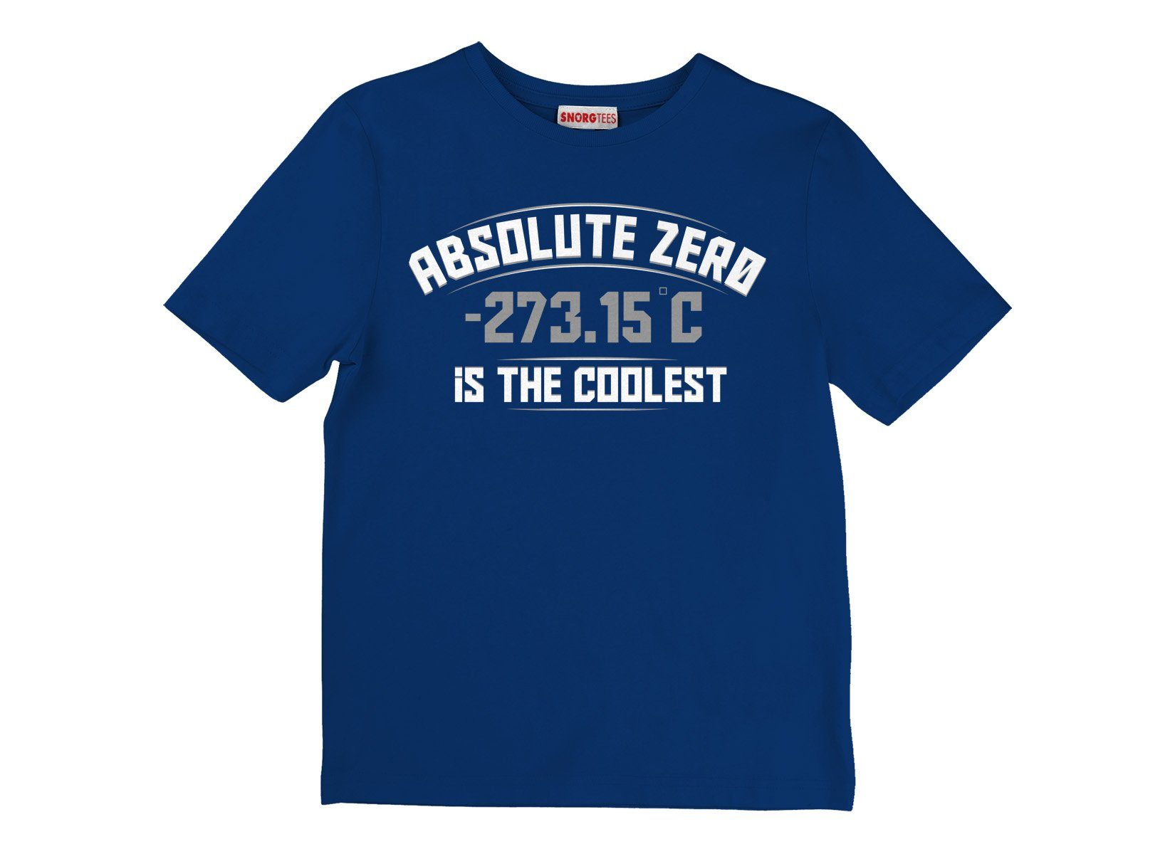 Absolute Zero Is The Coolest on Kids T-Shirt