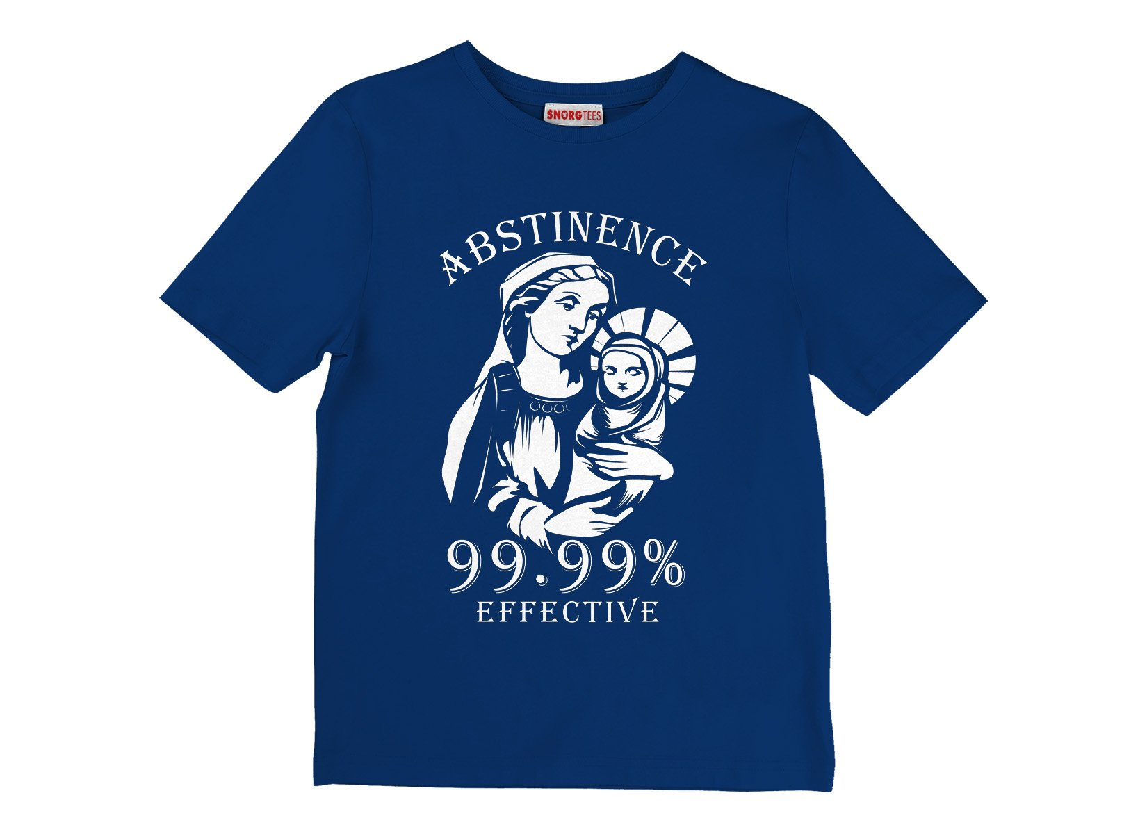 Abstinence, 99.99% Effective on Kids T-Shirt