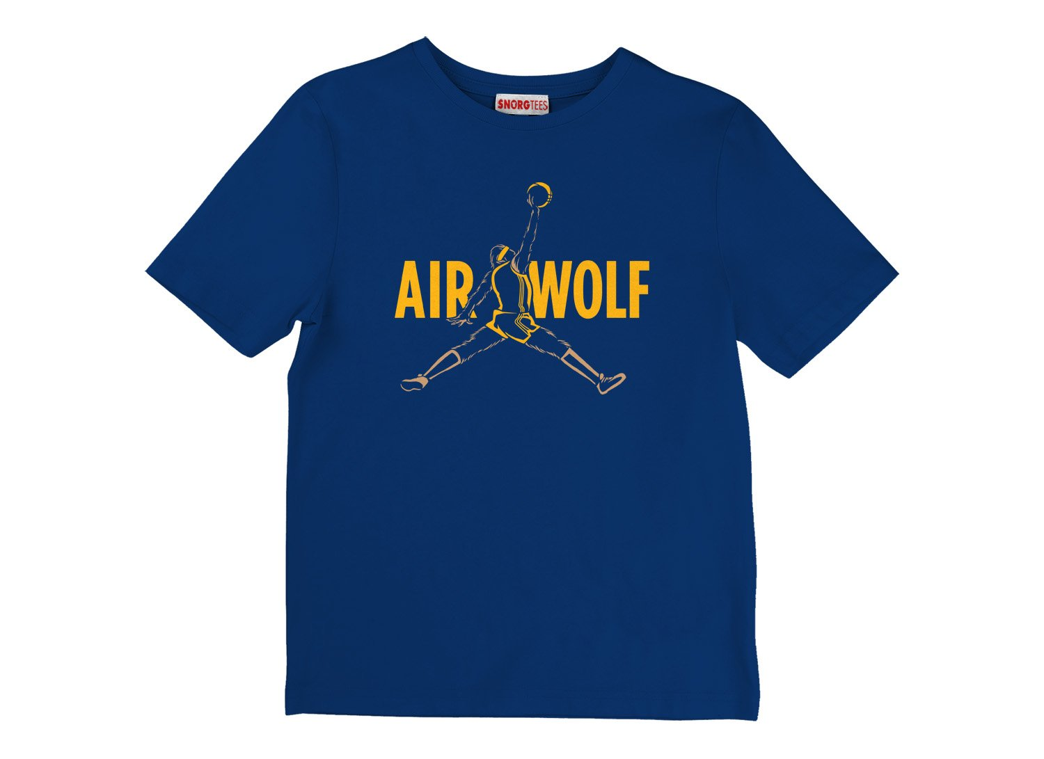 Air Wolf on Kids T-Shirt