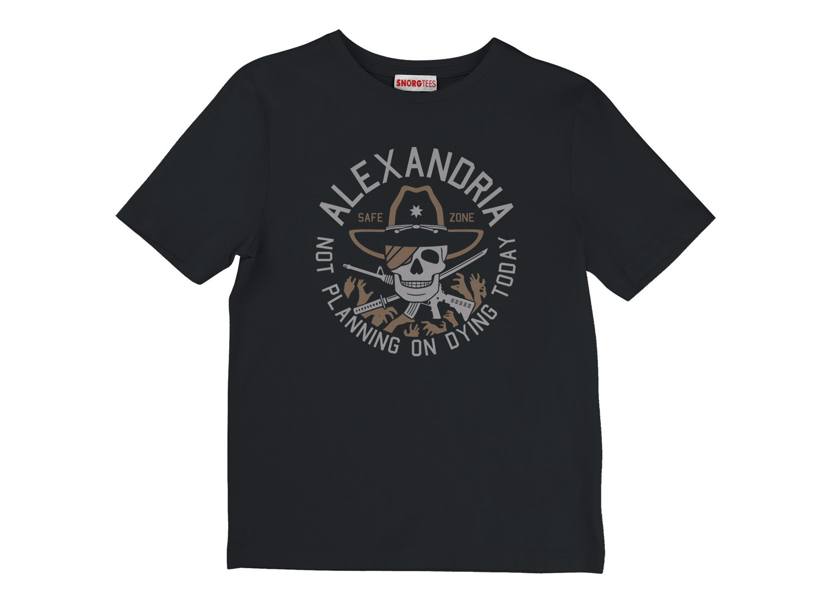 Alexandria Safe Zone on Kids T-Shirt