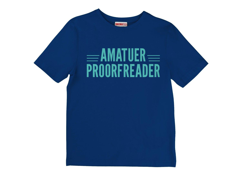 Amatuer Proorfeader on Kids T-Shirt