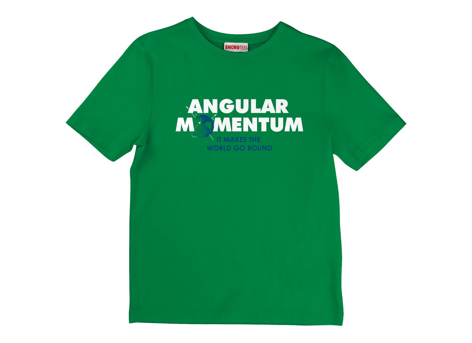 Angular Momentum on Kids T-Shirt