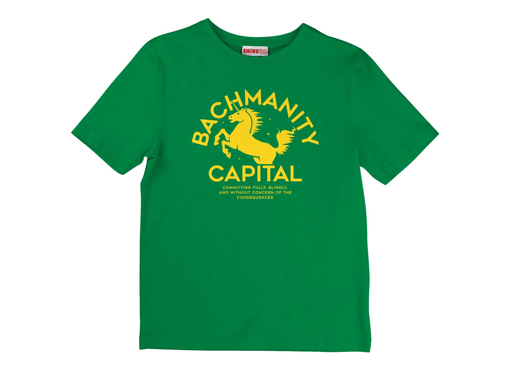 Bachmanity Capital on Kids T-Shirt