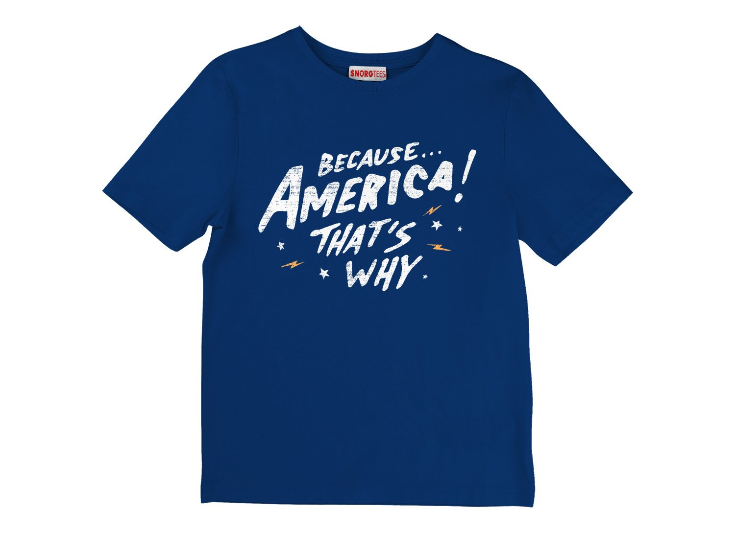 Because America! That's Why on Kids T-Shirt