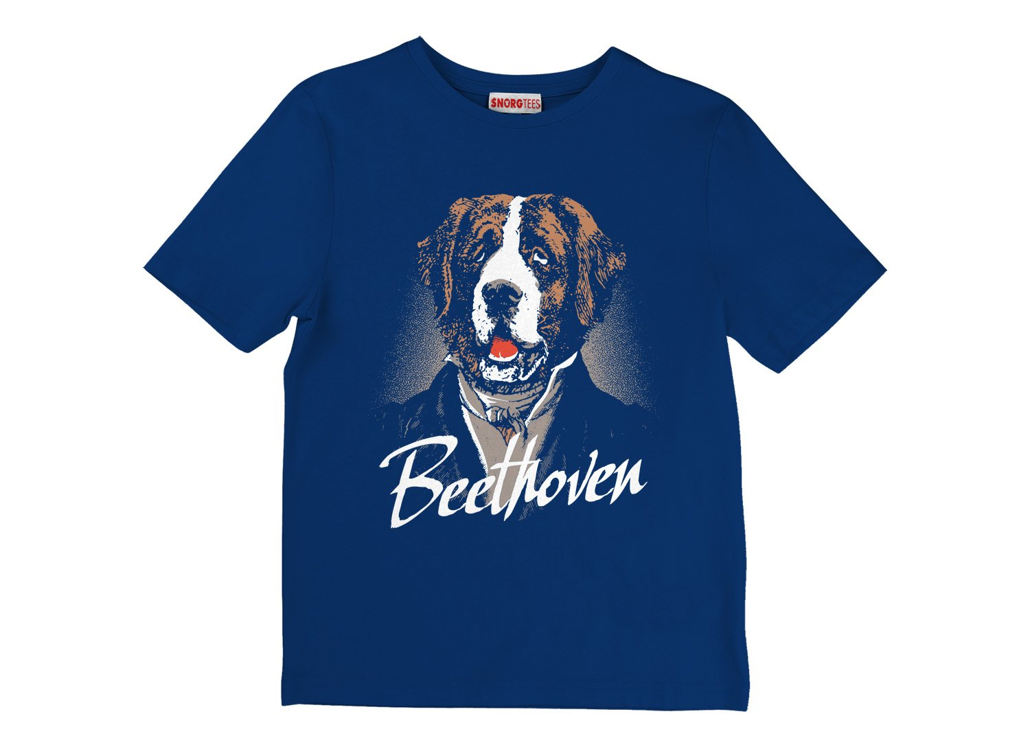 Beethoven on Kids T-Shirt