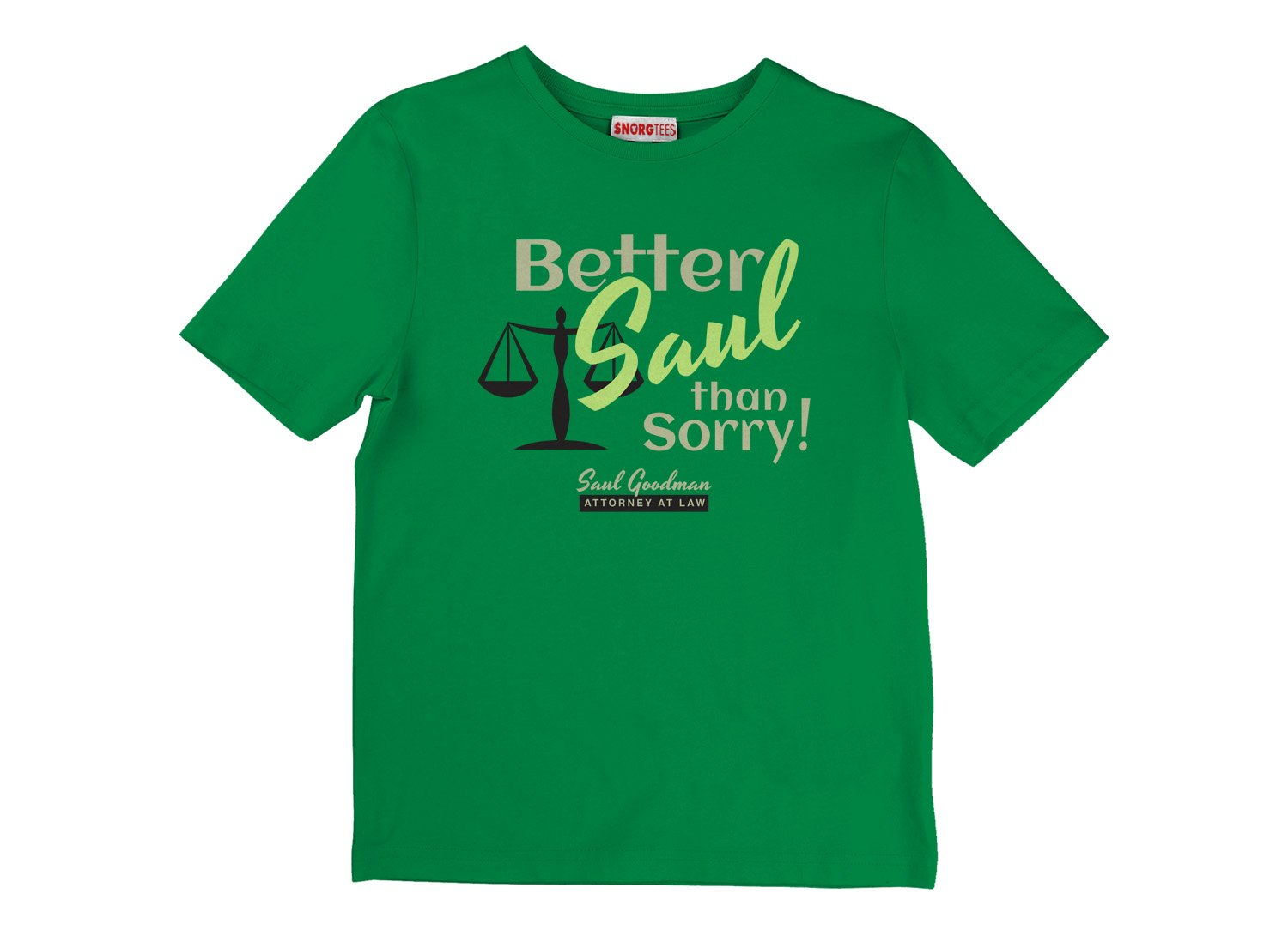 Better Saul Than Sorry! on Kids T-Shirt
