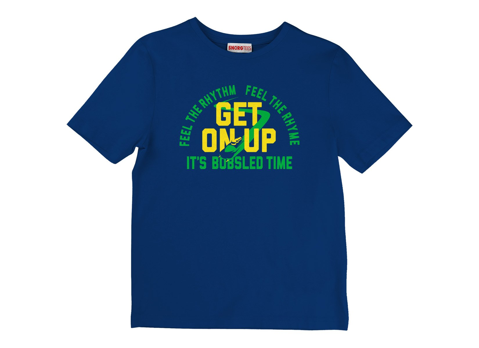 It's Bobsled Time on Kids T-Shirt