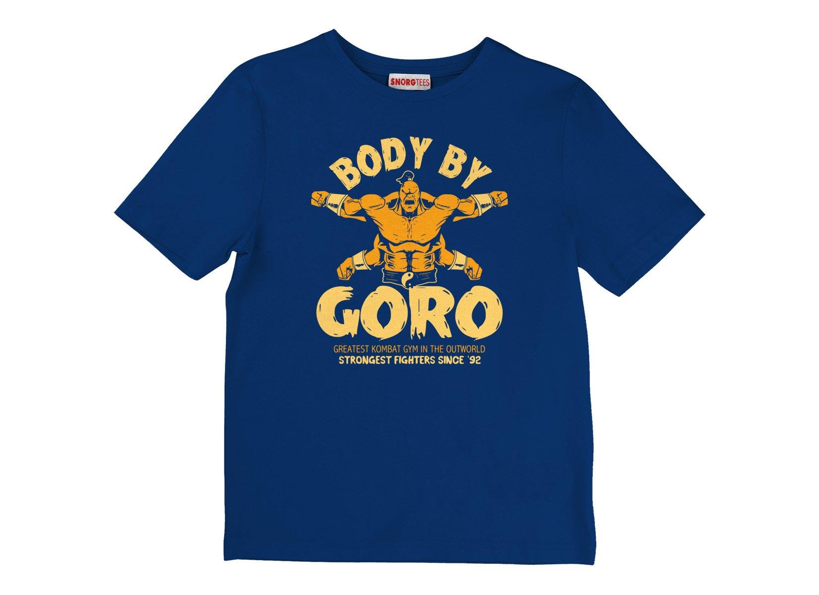 Body By Goro on Kids T-Shirt