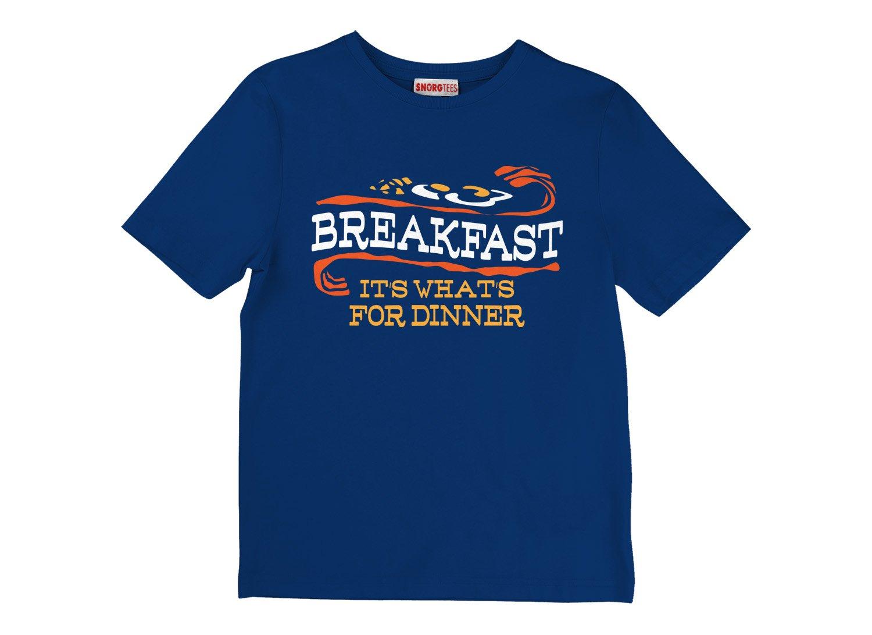 Breakfast, It's What's For Dinner on Kids T-Shirt