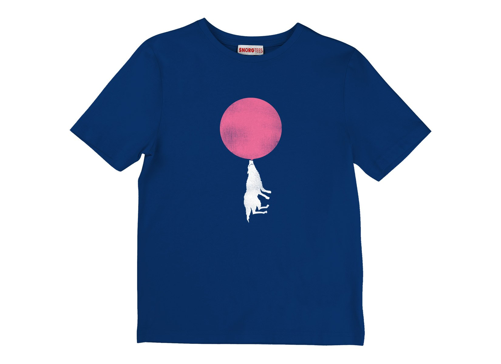 Bubble Moon on Kids T-Shirt