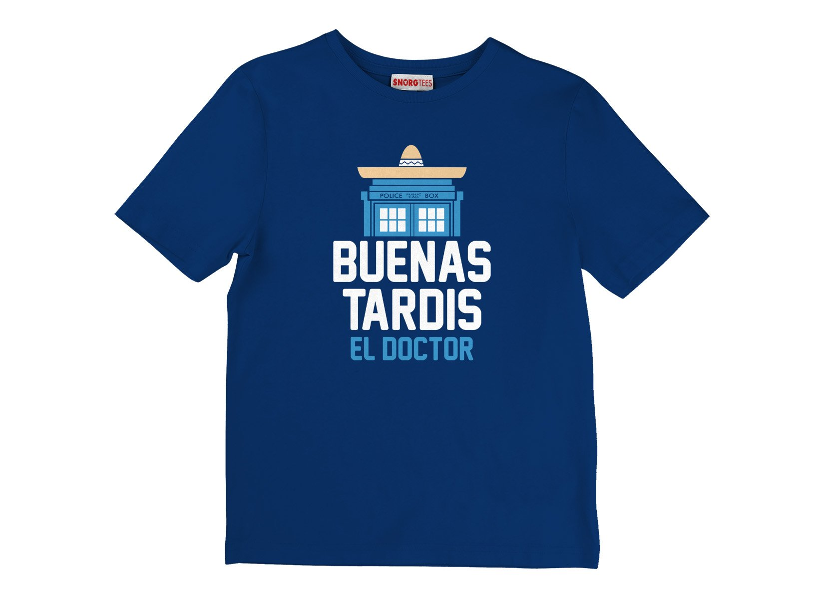 Buenas Tardis on Kids T-Shirt