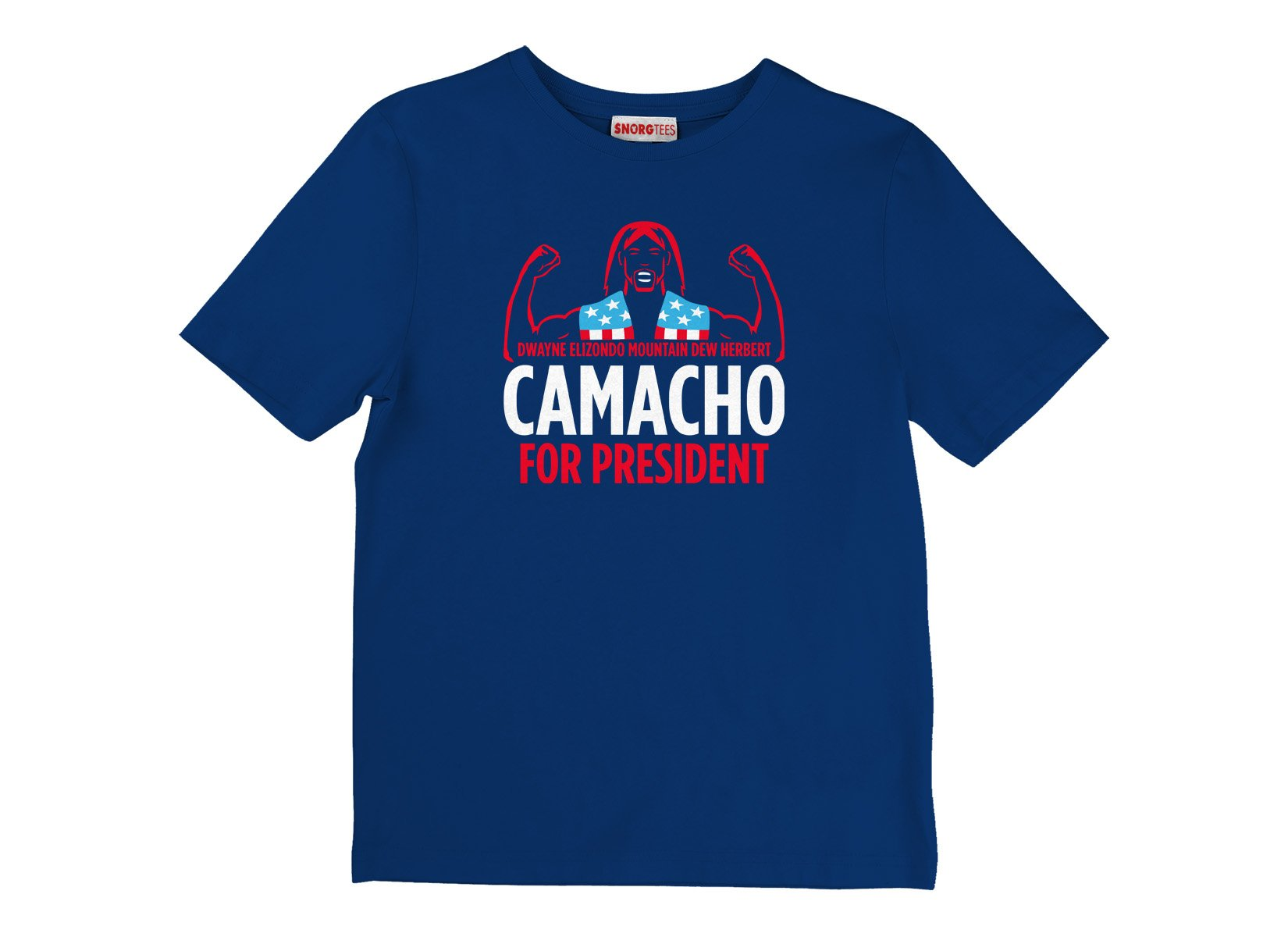 Camacho For President on Kids T-Shirt