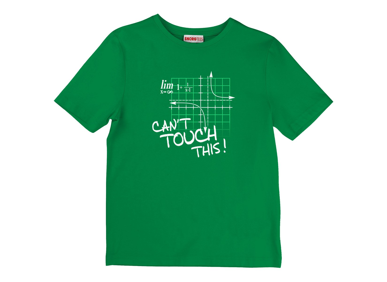 Can't Touch This Equation on Kids T-Shirt