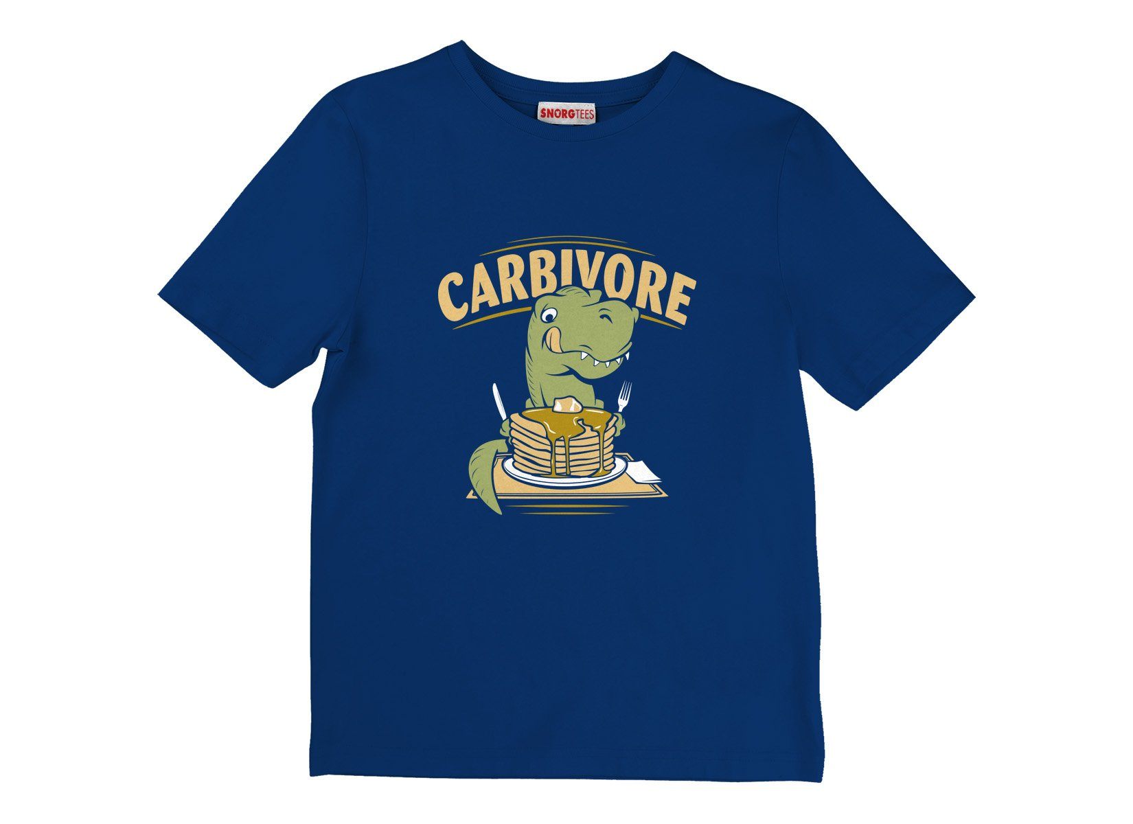 Carbivore on Kids T-Shirt