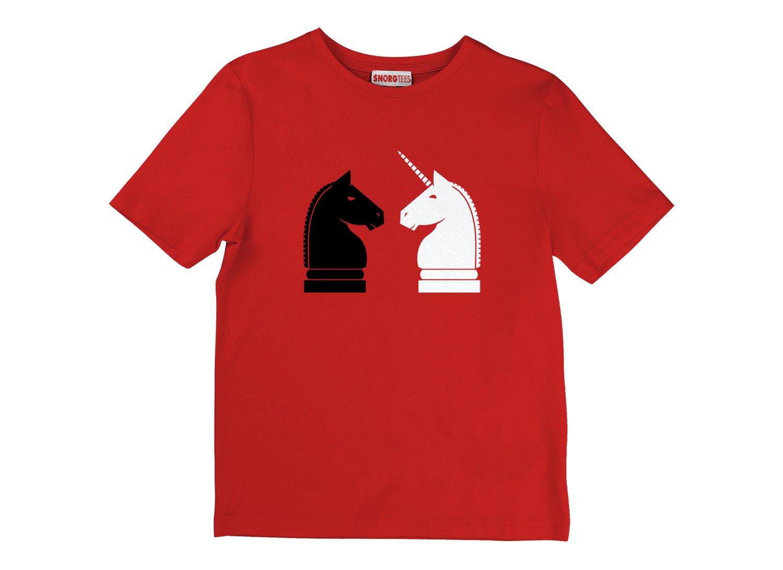 Chess Unicorn on Kids T-Shirt