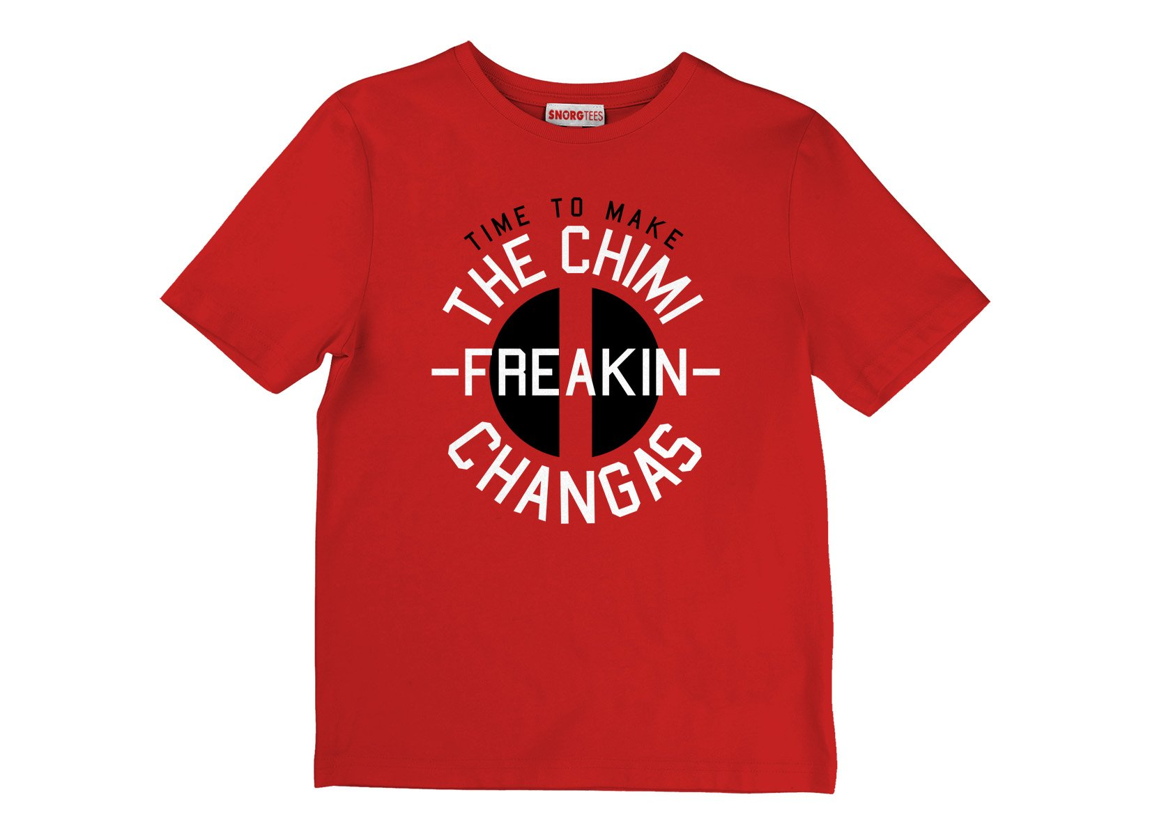 Chimi-freakin-changas on Kids T-Shirt