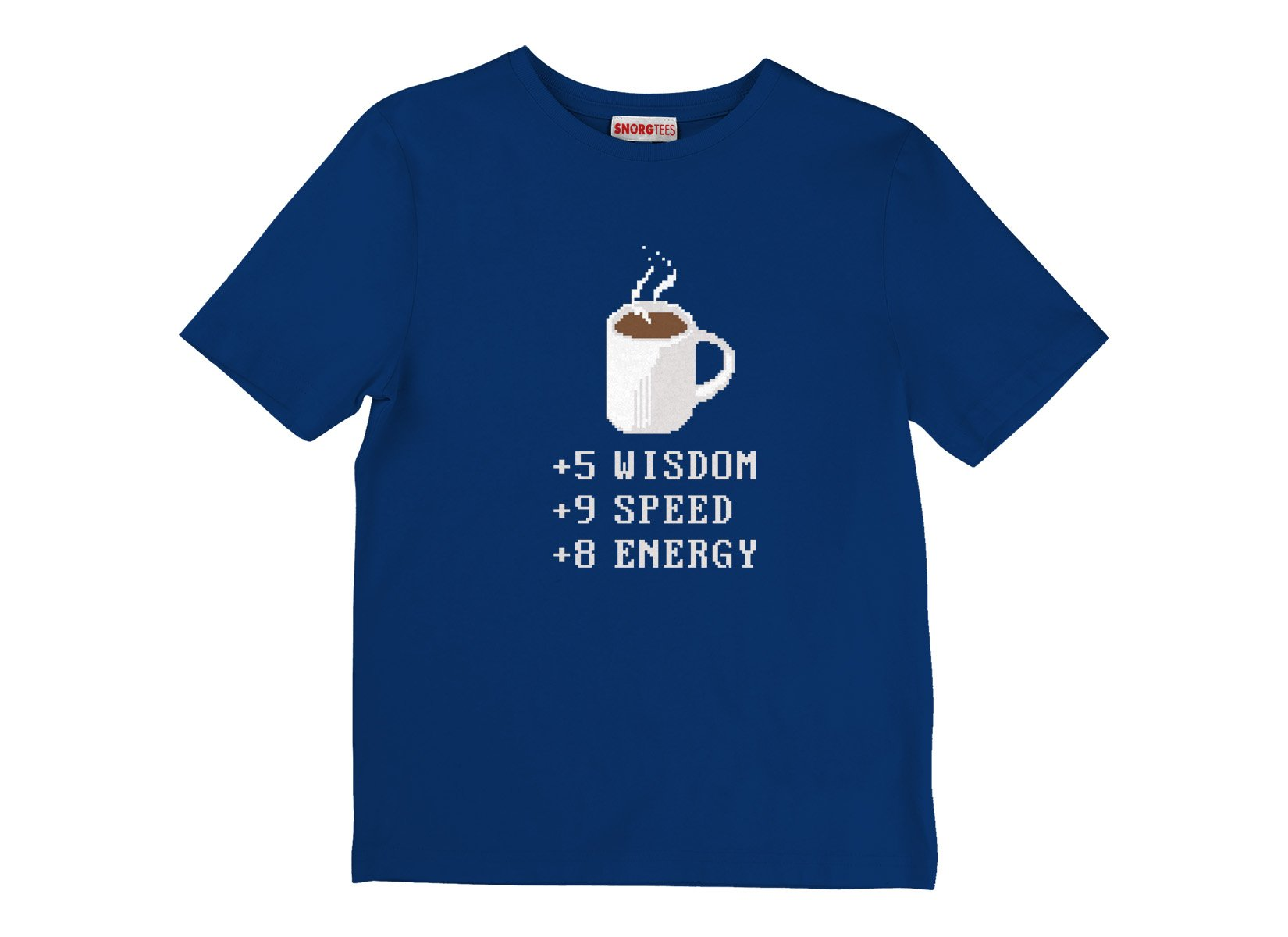 Coffee Plus To Stats on Kids T-Shirt
