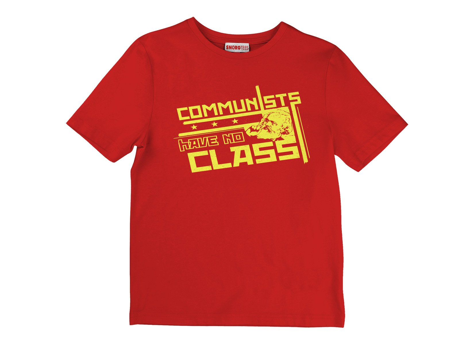 Communists Have No Class on Kids T-Shirt