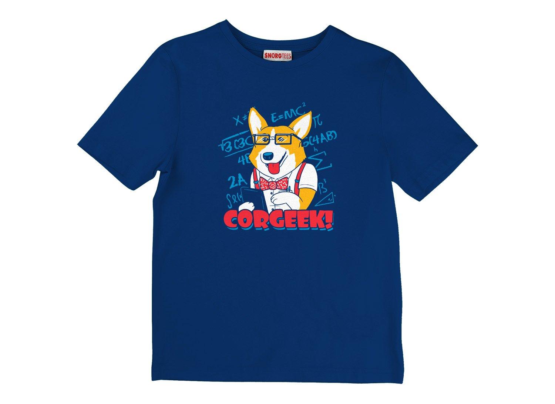 Corgeek on Kids T-Shirt