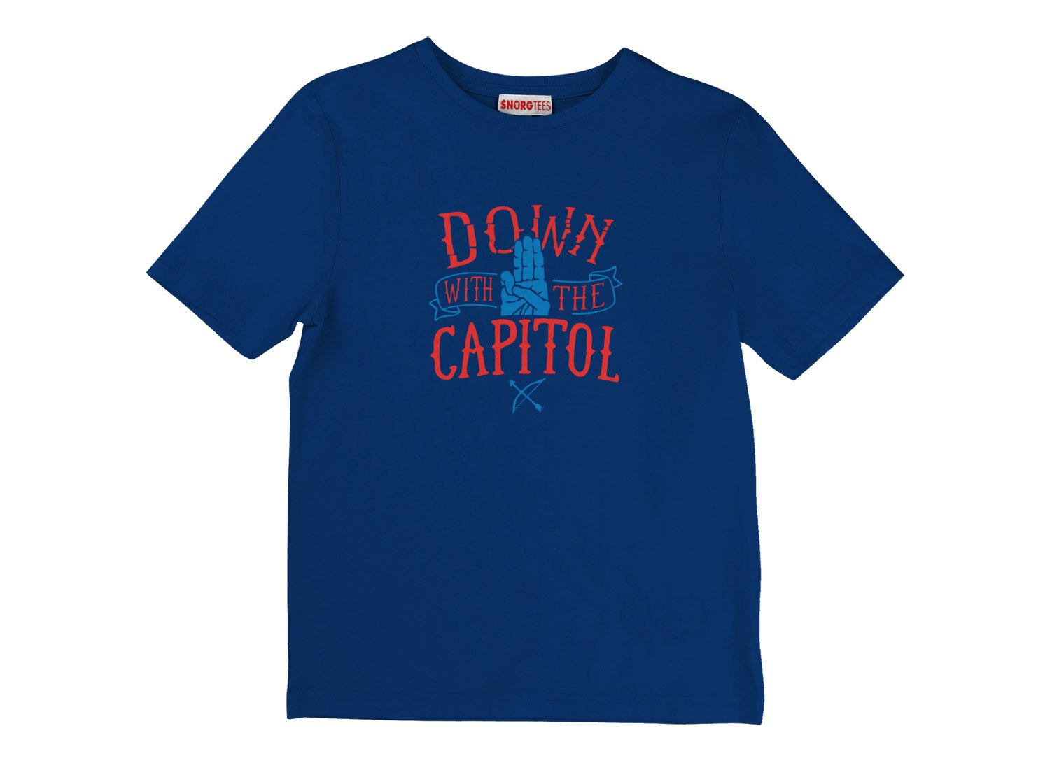 Down With The Capitol on Kids T-Shirt