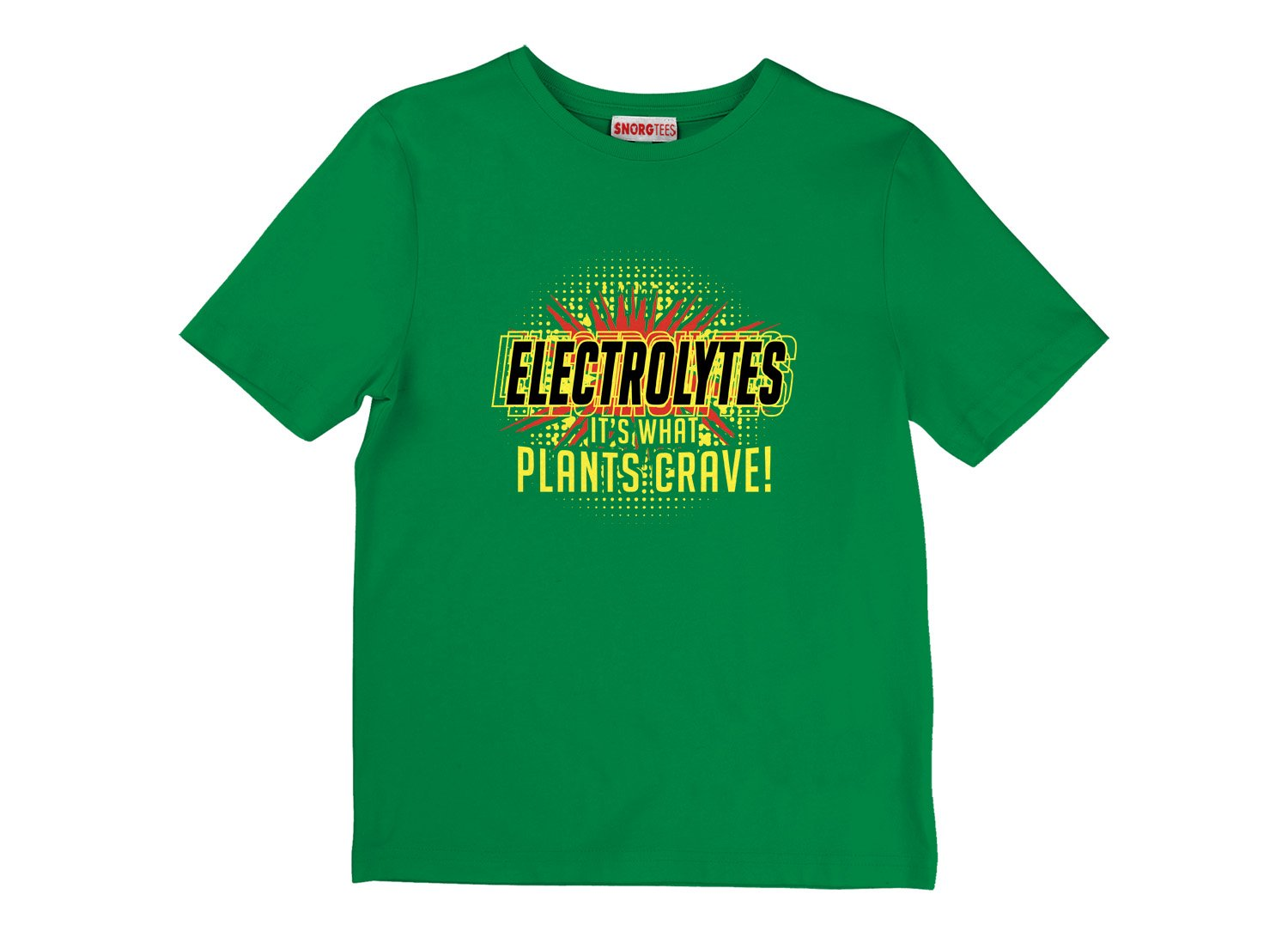 Electrolytes, It's What Plants Crave! on Kids T-Shirt