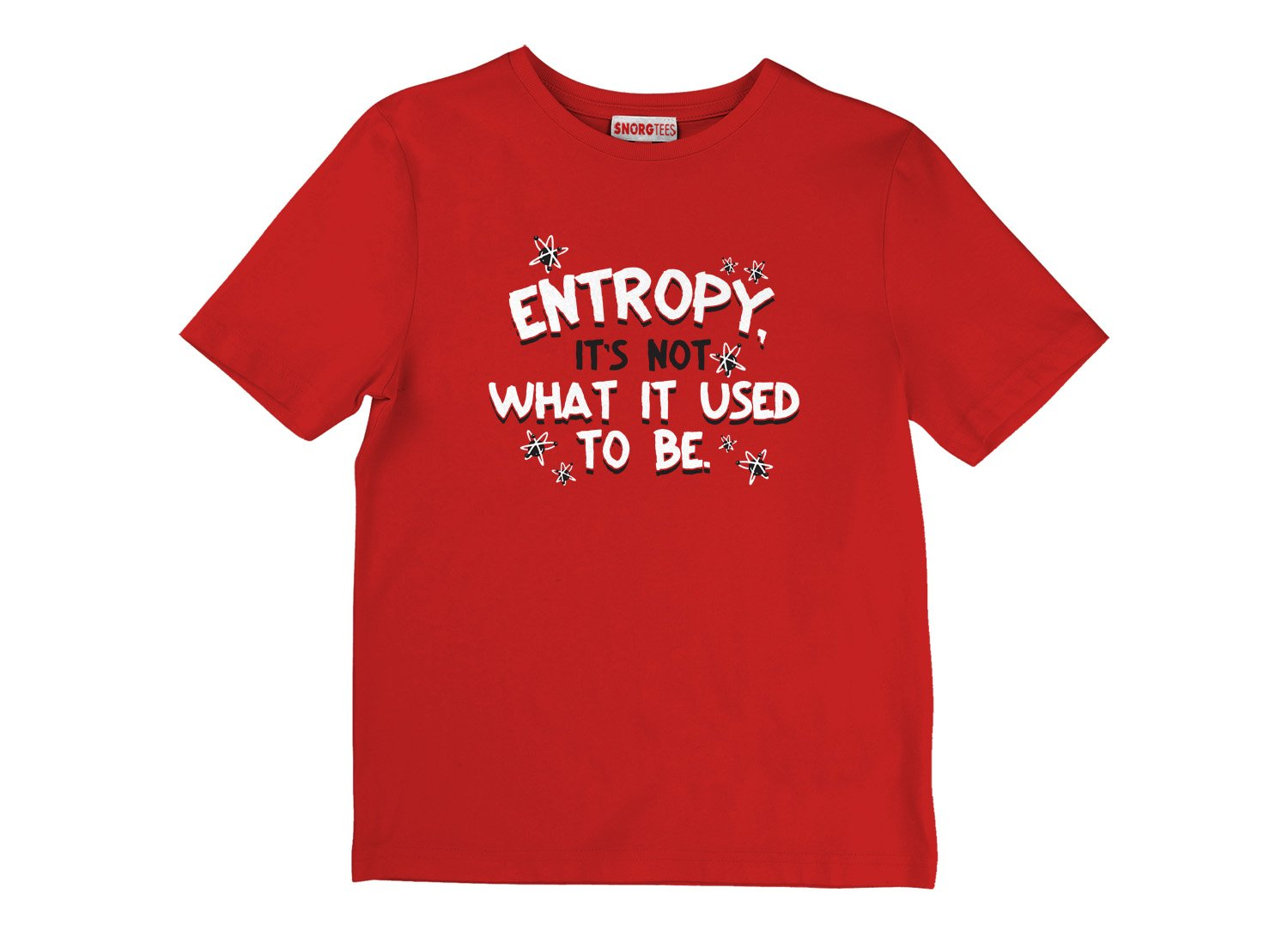 Entropy, It's Not What It Used To Be on Kids T-Shirt