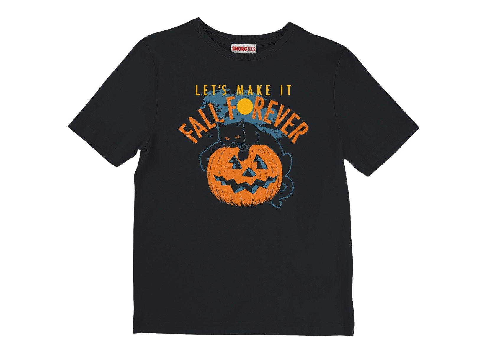 Fall Forever on Kids T-Shirt