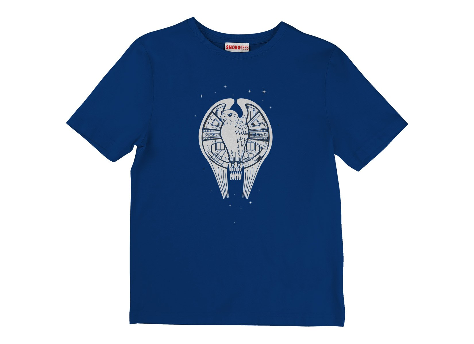 Fastest Falcon In The Universe on Kids T-Shirt