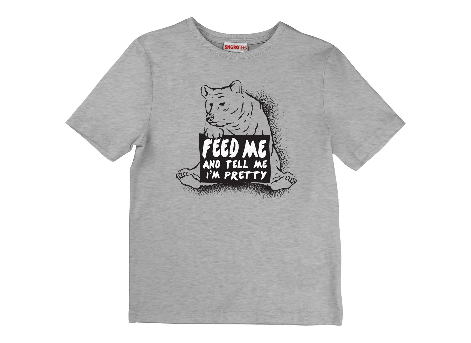 Feed Me on Kids T-Shirt