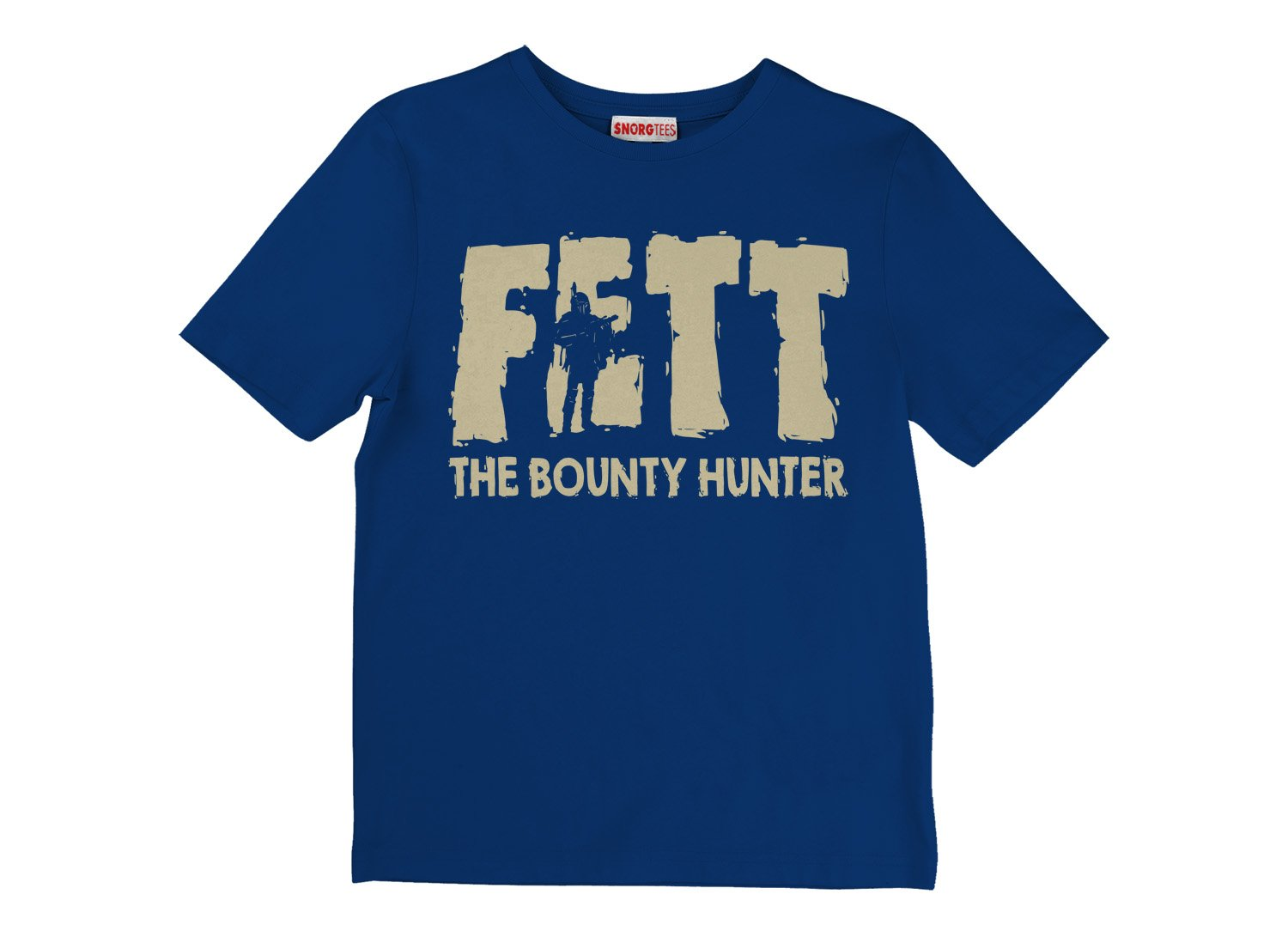 Fett, Bounty Hunter on Kids T-Shirt