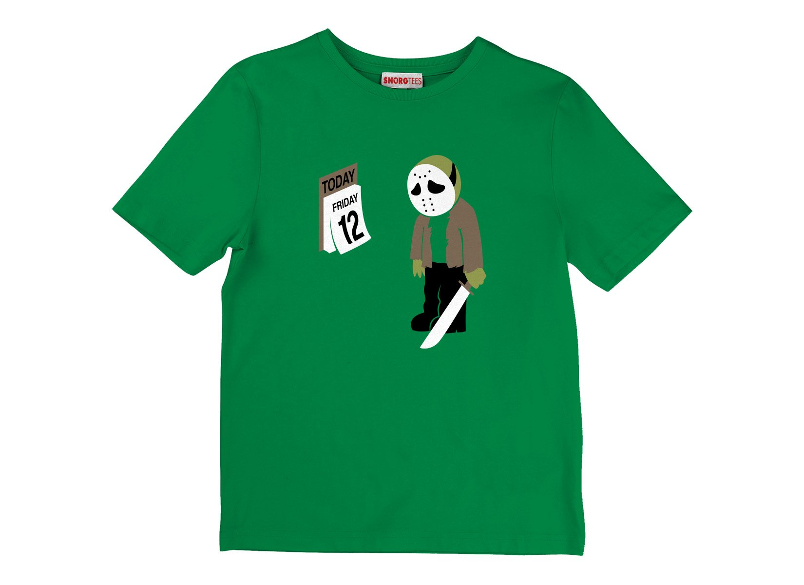 Friday the 12th on Kids T-Shirt