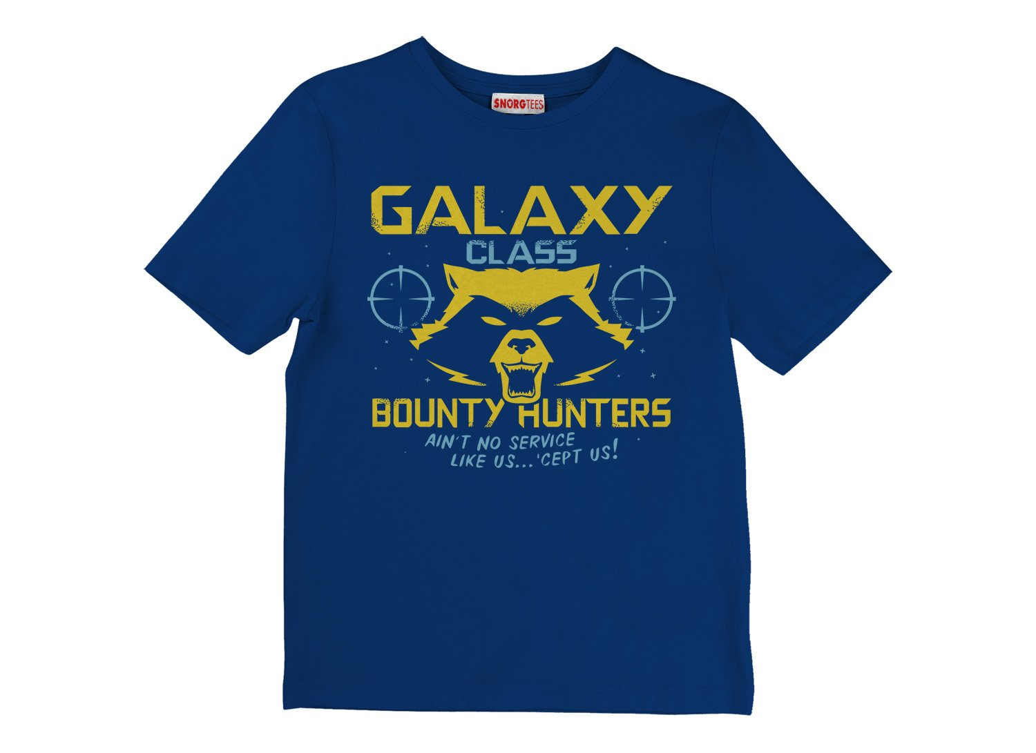 Galaxy Class Bounty Hunters on Kids T-Shirt
