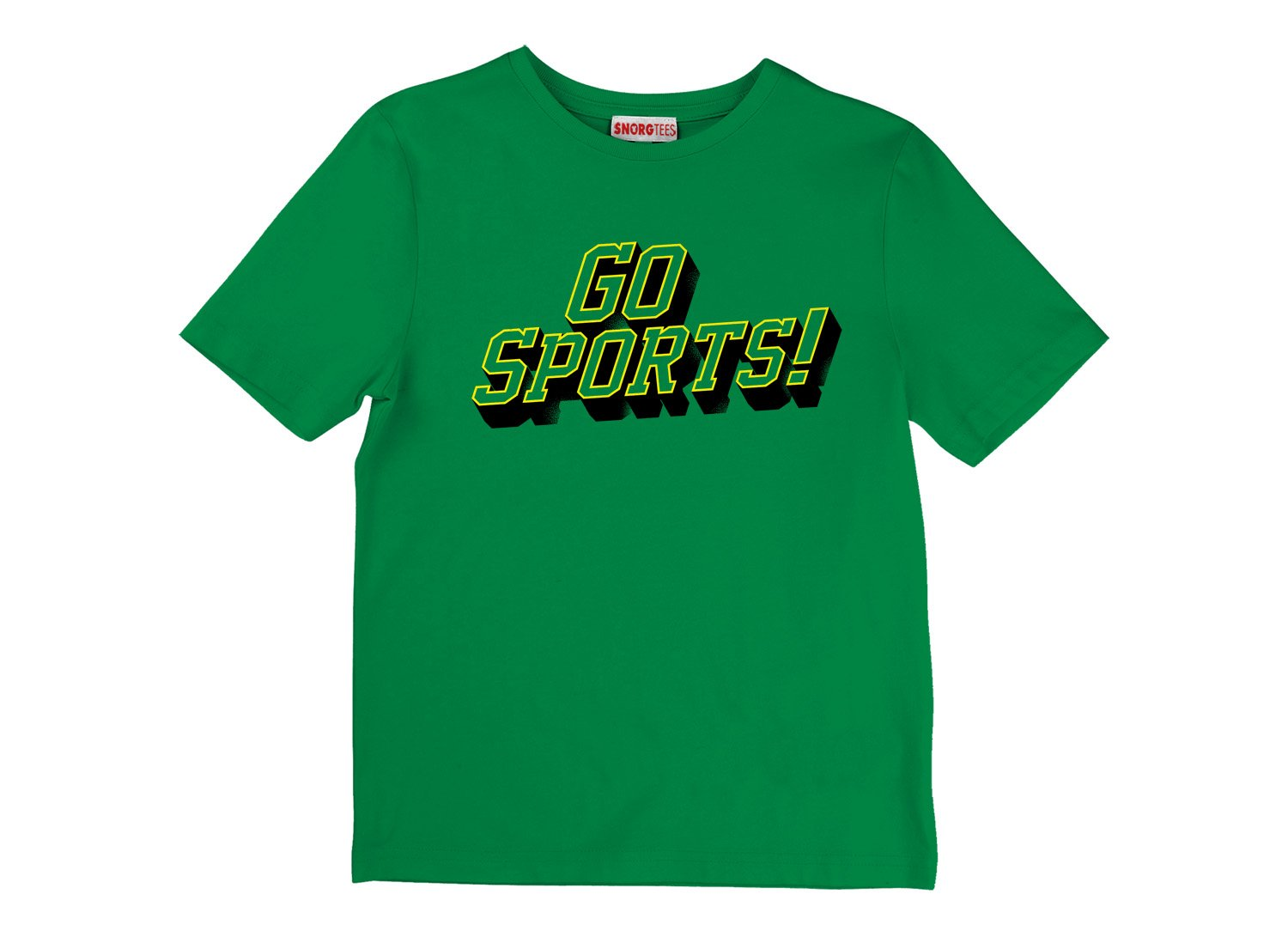 Go Sports! on Kids T-Shirt