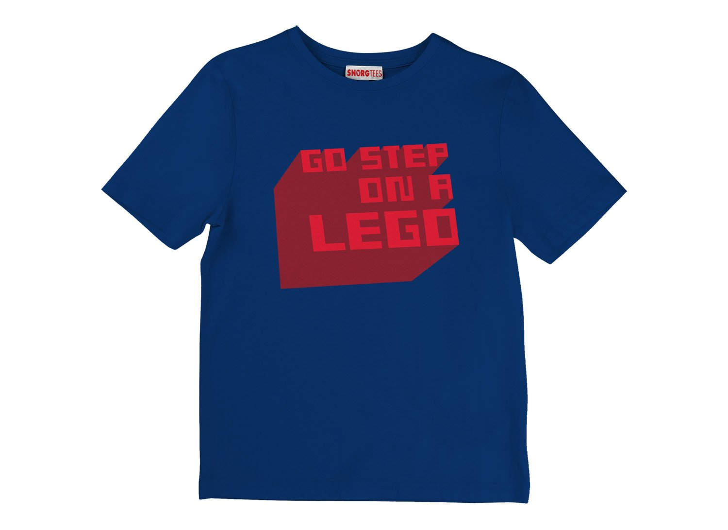Go Step On A Lego on Kids T-Shirt