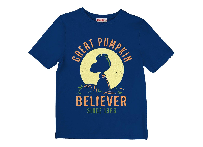 Great Pumpkin Believer on Kids T-Shirt