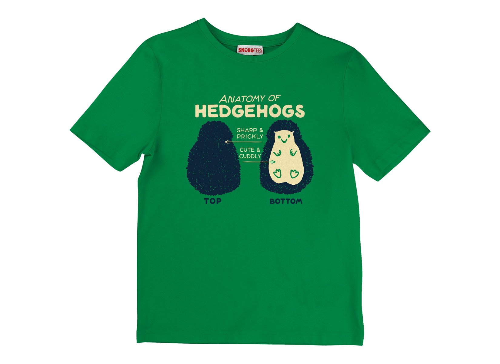 Anatomy Of Hedgehogs on Kids T-Shirt