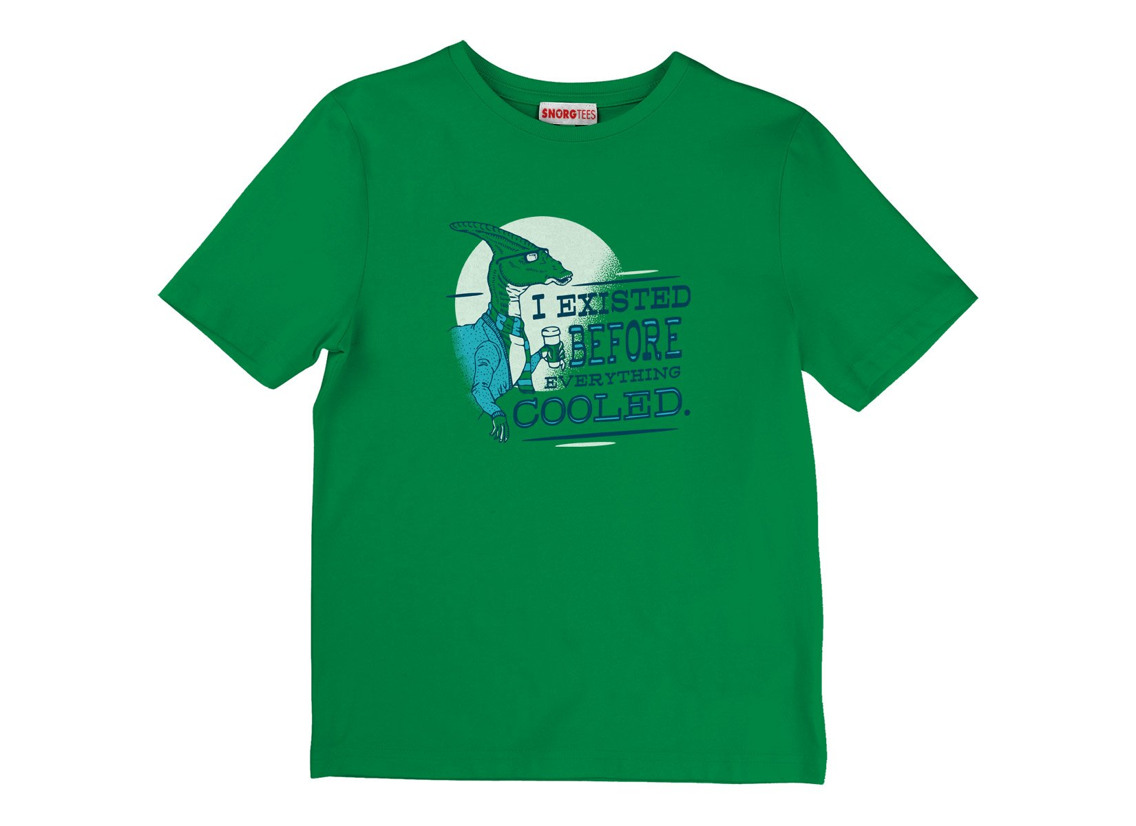 I Existed Before Everything Cooled on Kids T-Shirt