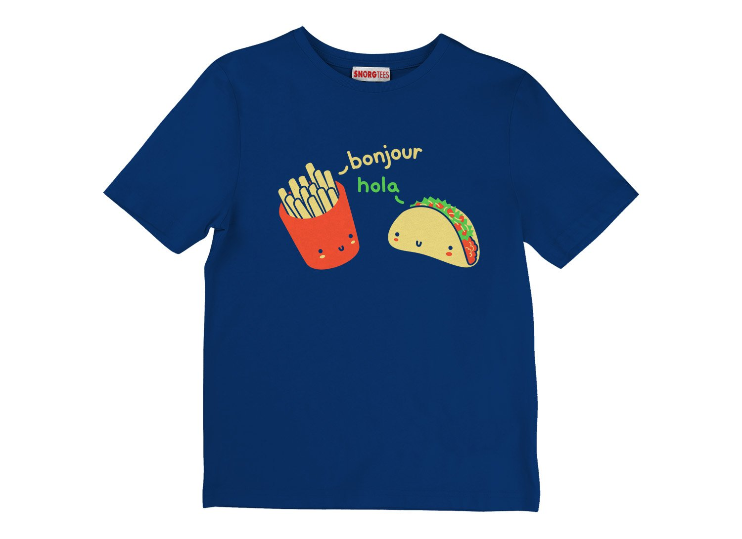 Hola Taco on Kids T-Shirt