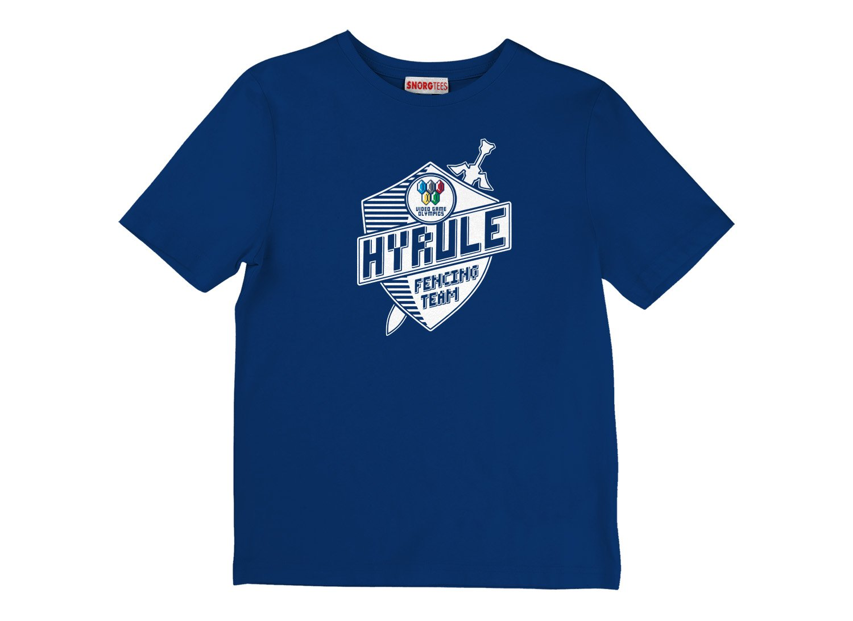 Hyrule Fencing Team on Kids T-Shirt