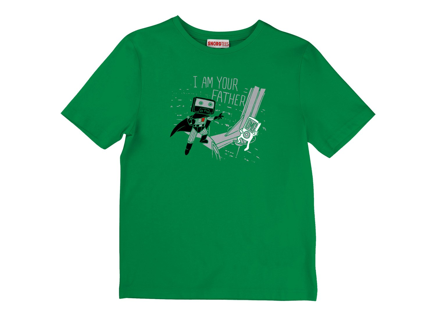 I Am Your Father Cassette on Kids T-Shirt