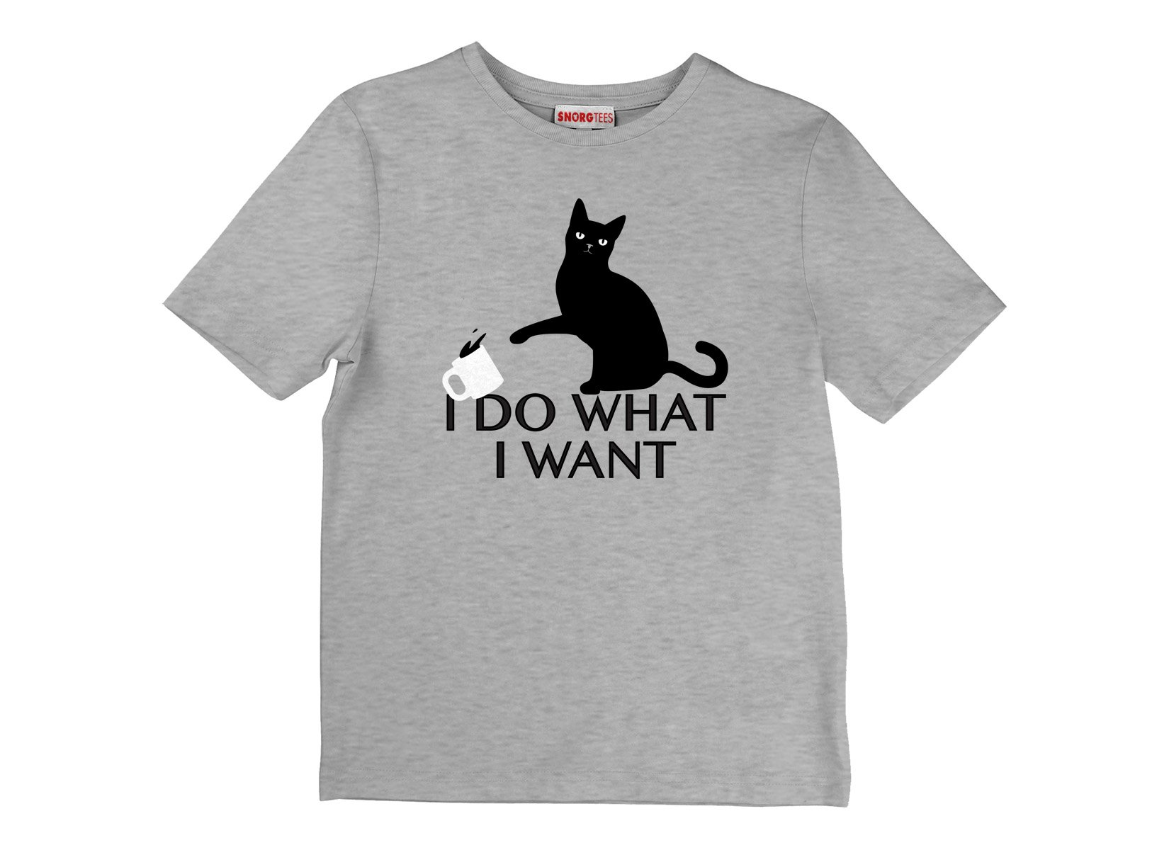 I Do What I Want on Kids T-Shirt