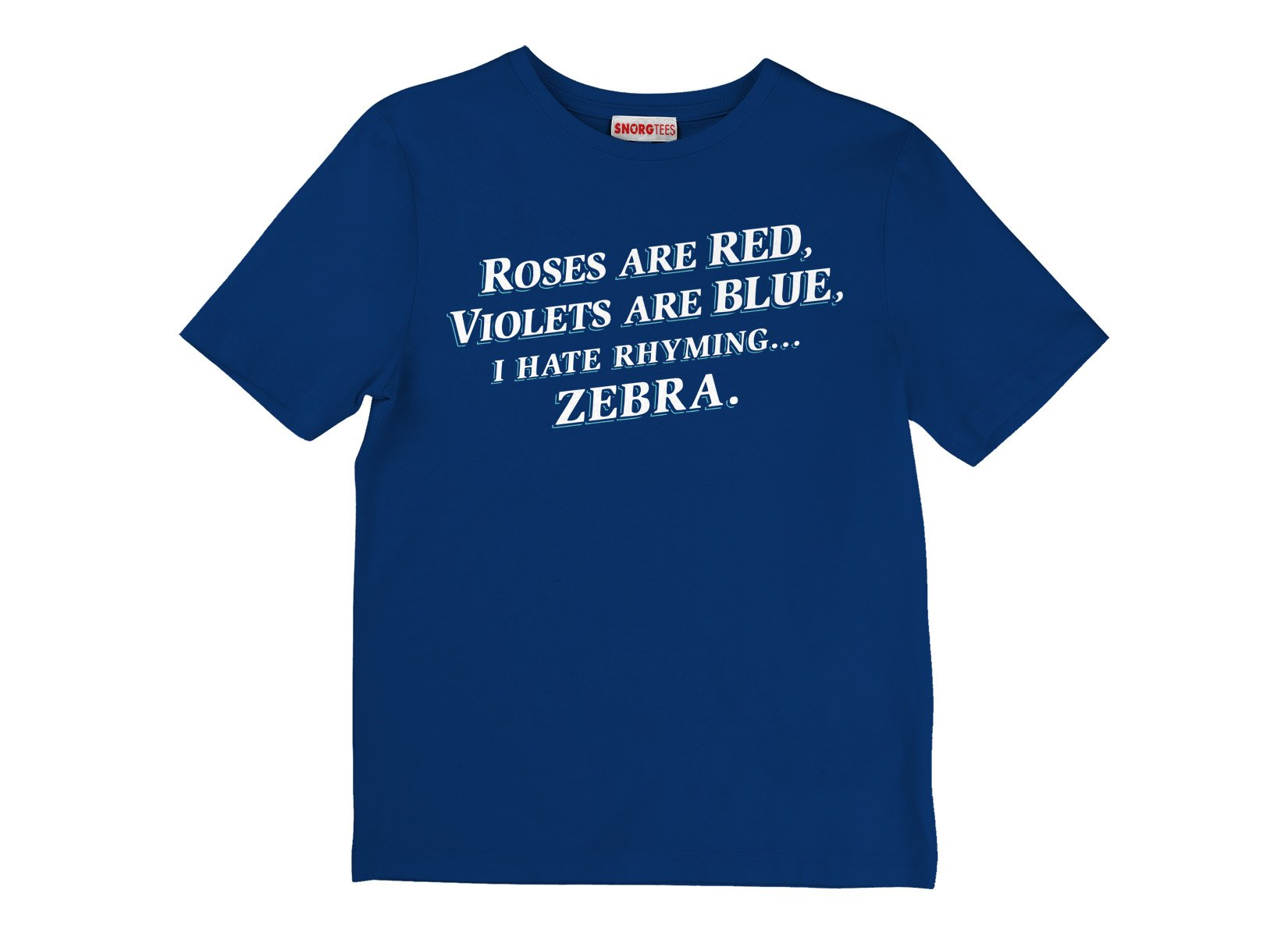I Hate Rhyming on Kids T-Shirt
