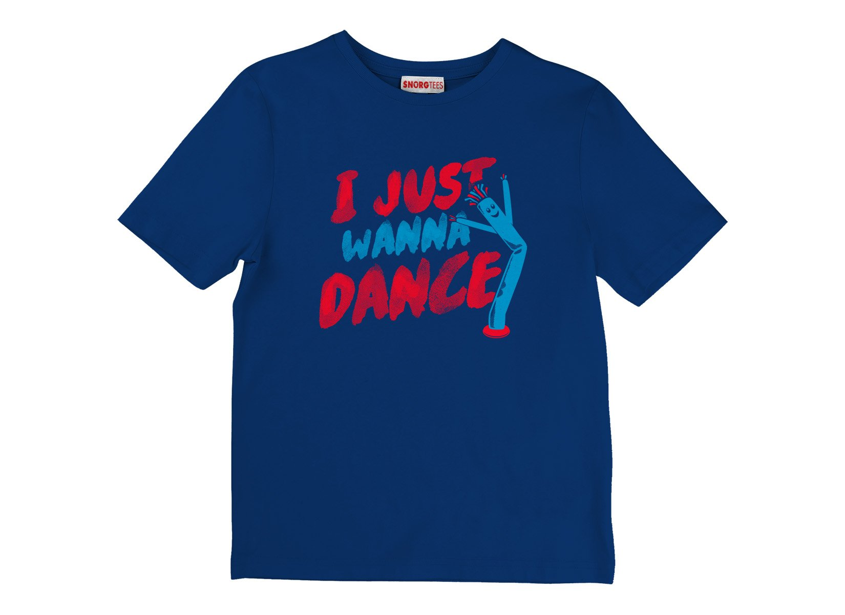 I Just Wanna Dance on Kids T-Shirt