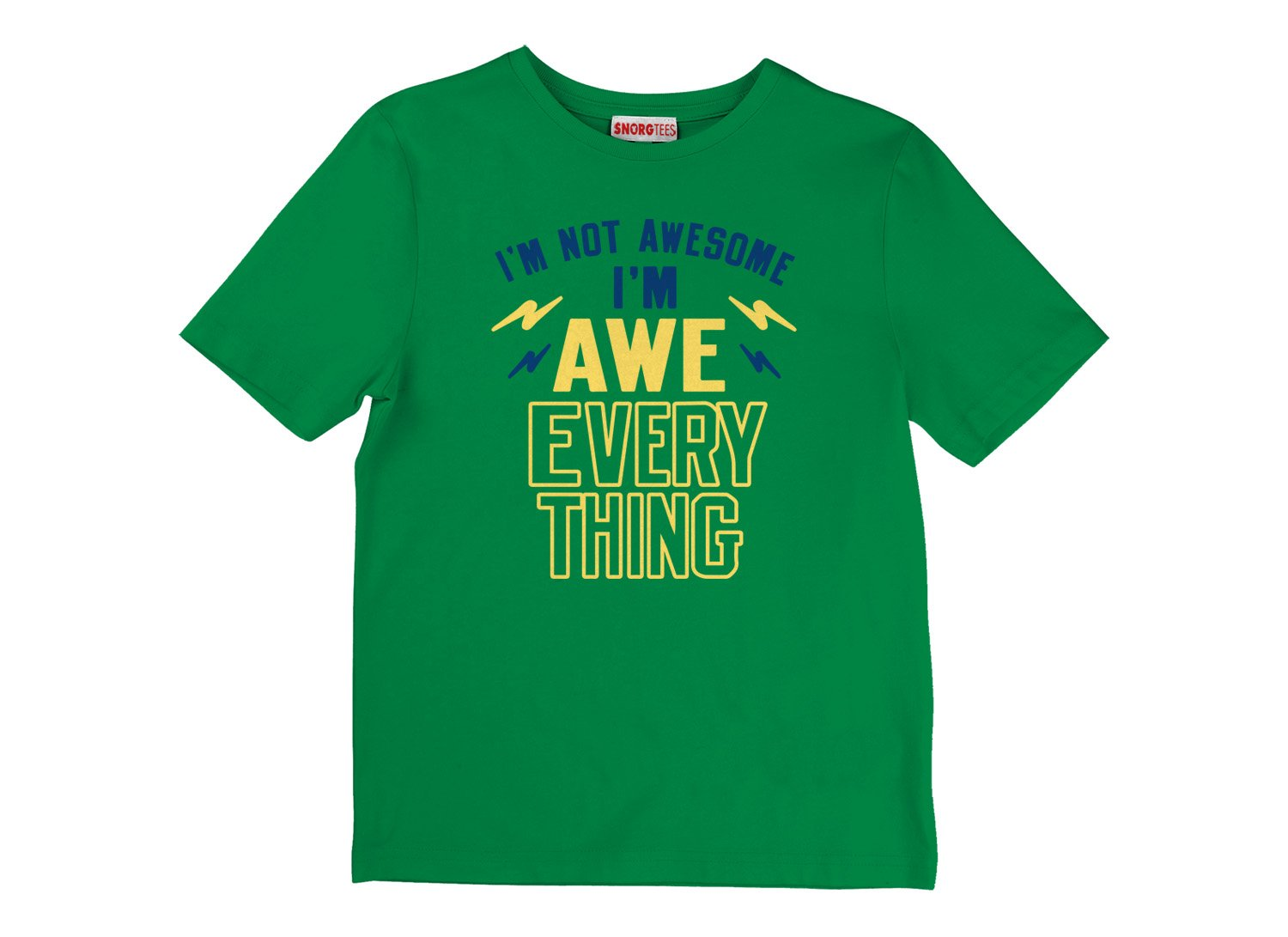 I'm Not Awesome, I'm Awe-Everything on Kids T-Shirt