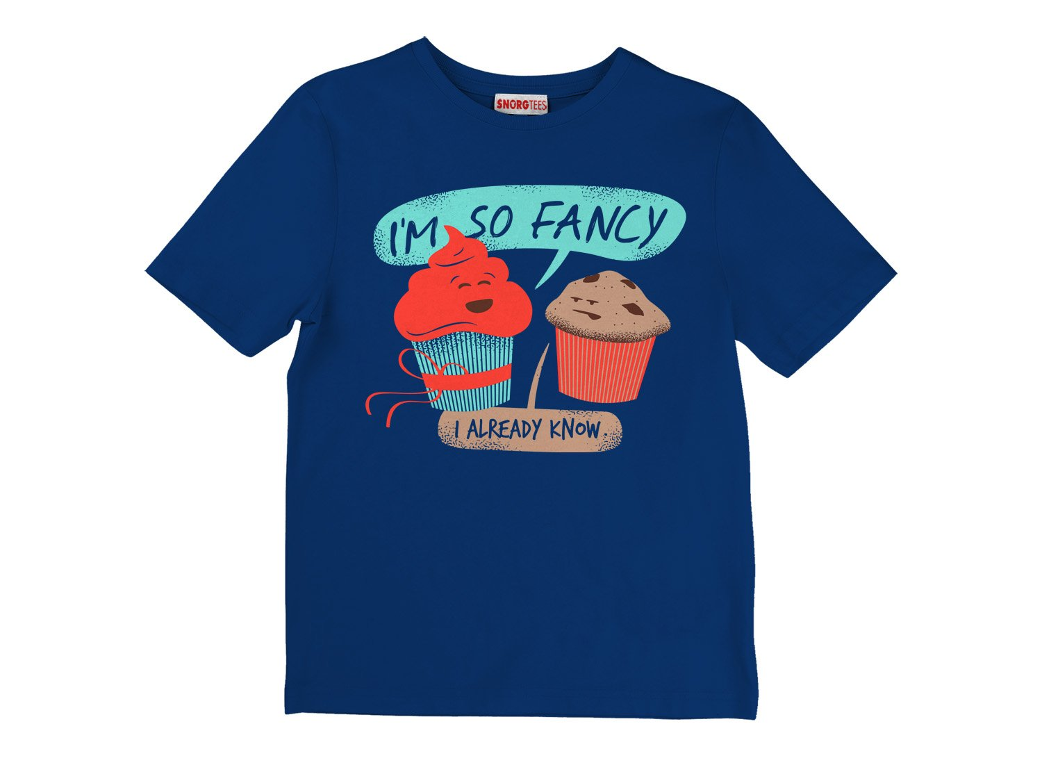 I'm So Fancy on Kids T-Shirt
