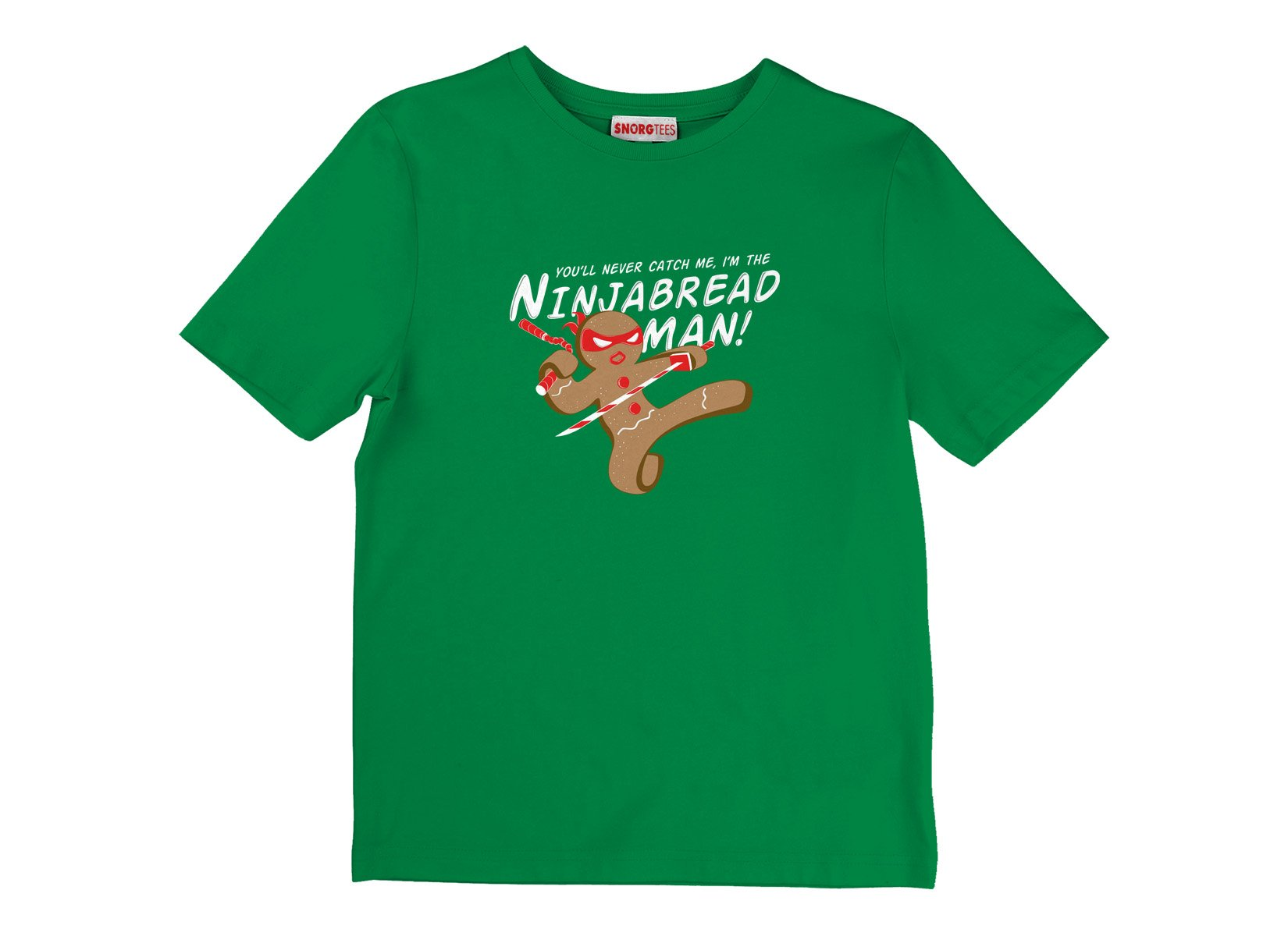 I'm The Ninjabread Man! on Kids T-Shirt