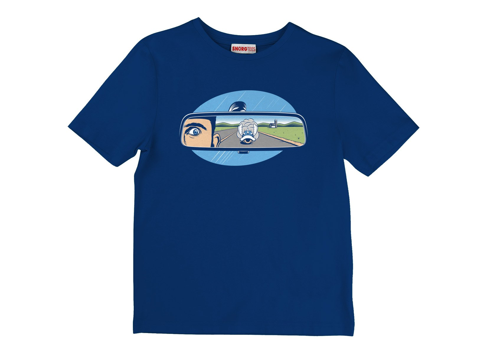 Incoming Turtle Shell on Kids T-Shirt
